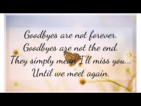 goodbye messages