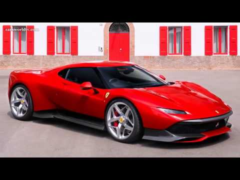 2018 FERRARI SP38 l NEW CREATION FROM THE ONE-OFF PROGRAMME