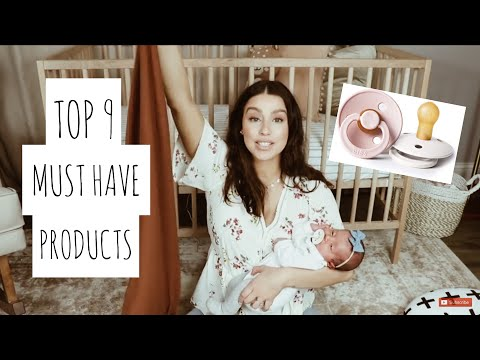 Newborn Must Haves || Top 9 Products
