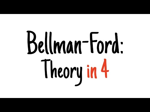 Bellman-Ford in 4 minutes — Theory