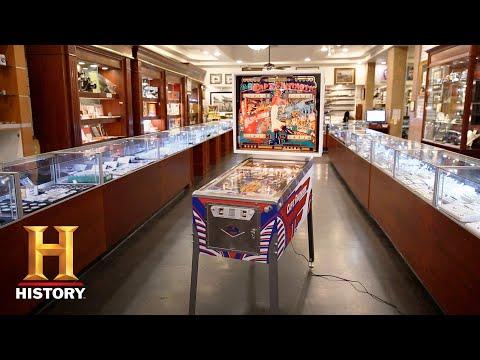 Pawn Stars: Elton John Captain Fantastic Pinball Machine (Season 14) | History