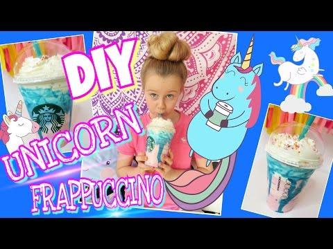 DIY EINHORN Unicorn FRAPPUCCINO Rezept KEIN Slime!