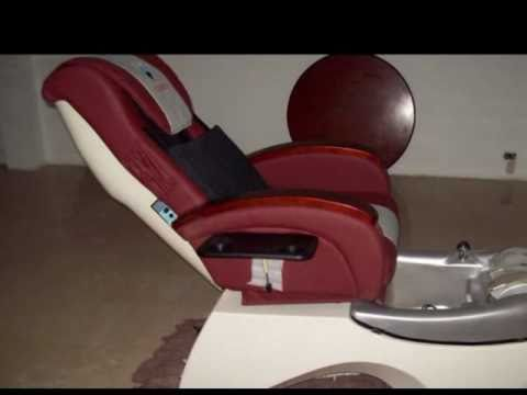 silla pedi spa para tratamientos de pedicure distribuye