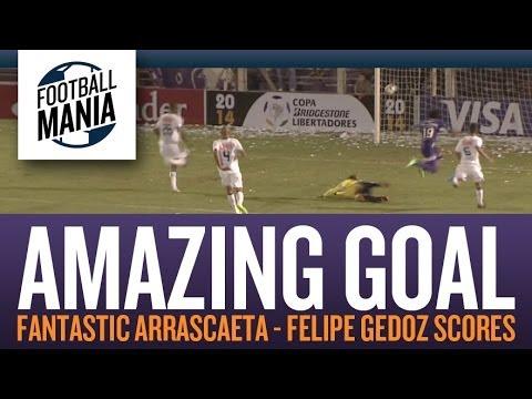 Amazing Goal - Fantastic Arrascaeta (Felipe Gedoz scores Vs. Cruzeiro)