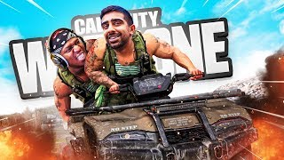 THE GREATEST ESCAPE in CoD WARZONE w/ KSI & Calfreezy