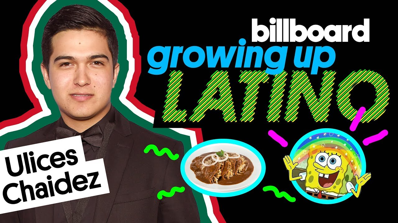 Ulices Chaidez Talks Enchiladas De Mole, 'SpongeBob' & First Time Drumming | Growing Up Latino