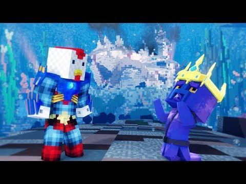 Minecraft | KRAKEN KID'S LOST SON! (Joebuz's Atlantis Adventure) #8