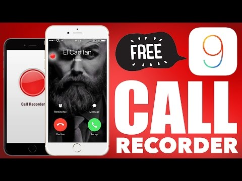 FREE Call Recorder for iOS 9 -10/11 : iPhone 7 and below (Record Calls, Viber, Skype, FaceTime)