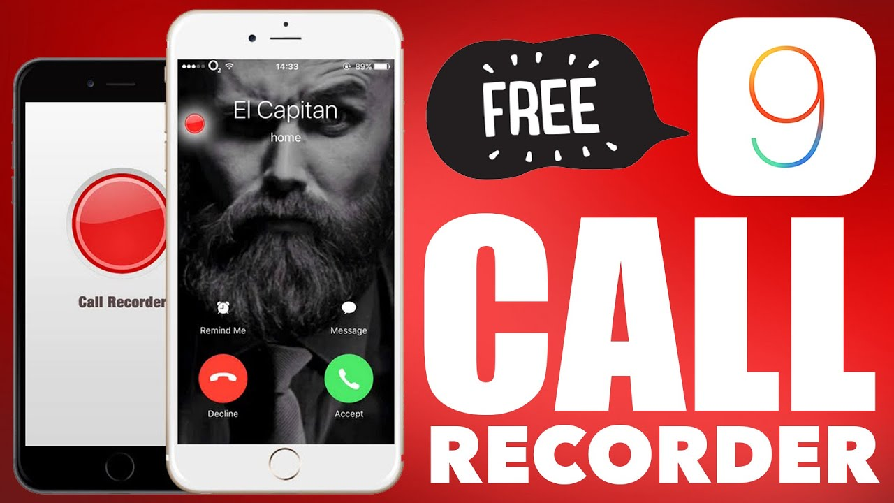 Free Call Recorder For Ios 9 10 11 Iphone 7 And Below Record Calls Viber Skype Facetime Youtube
