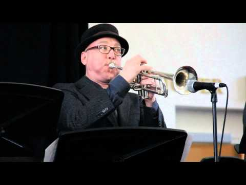Trumpeter Brian Lynch with the STAMPS Quintet at JEN 2012