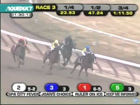 Allowance Optional Claiming - Ruler On Ice - Aqueduct