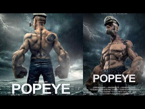 Watch Popeye Get Ready for His First Big-Screen Turn in ...
