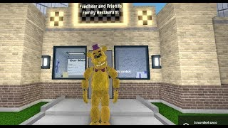 Canon Fredbear! Fredbear and Friends Pizzeria Roleplay Roblox