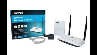 Netis WF2419 Wireless Router Unboxing & Review!!!