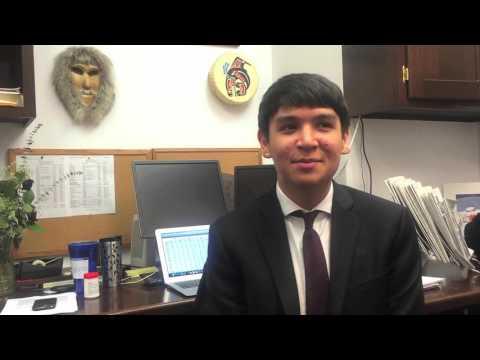 UAS Legislative Intern David Russell-Jensen
