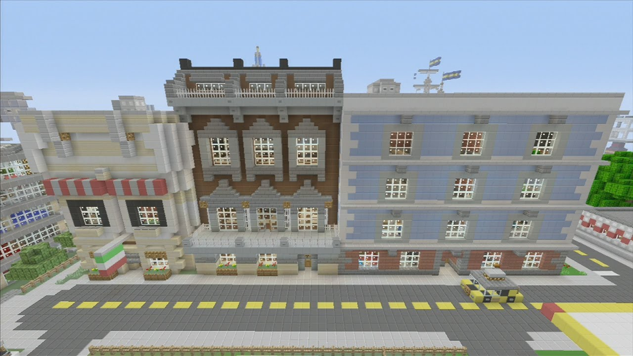 Cool Buildings In Minecraft Xbox
