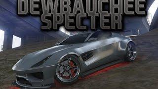 NOVI AUTO U GTA 5 ONLINE - DEWBAUCHEE SPECTER - ZVER U MALOM