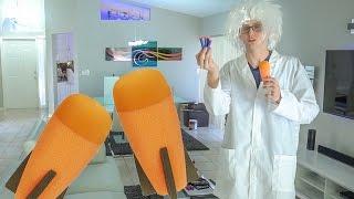 EXPLODING NERF GRENADE | NERF SUPER WEAPON