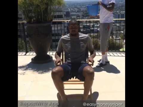 Kevin Durant's ALS Ice Bucket Challenge