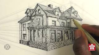 How to Draw Buildings in Perspective with Alphonso Dunn of