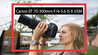 CHEAP telephoto lens | Canon EF 70-300mm f/4-5.6 IS II USM (english review) hands on
