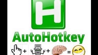 Ahk auto clicker tutorial