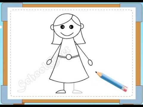 BÉ HỌA SĨ - Thực hành tập vẽ 107: Vẽ mẹ