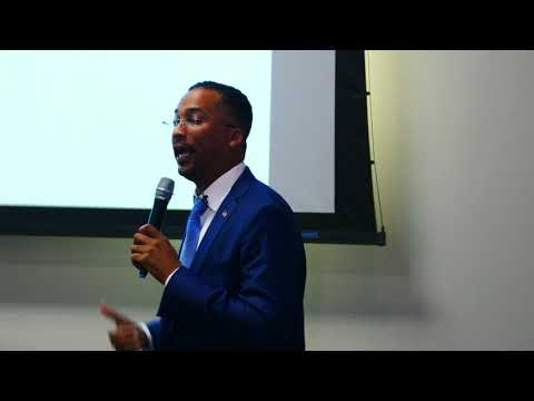 Dr. David M. Anderson Sr. SPEAKS - Possess The  Land - Old Dominion University Virginia Beach VA