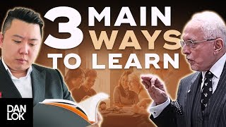 How To Learn - The 3 Main Ways