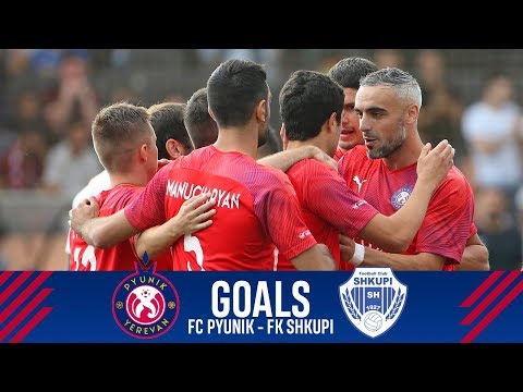 Pyunik - Shkupi 3-3 | All Goals