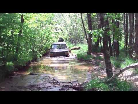 Off-road with my 96 Bronco in NH & ME w/ Sand, Water, and Mud