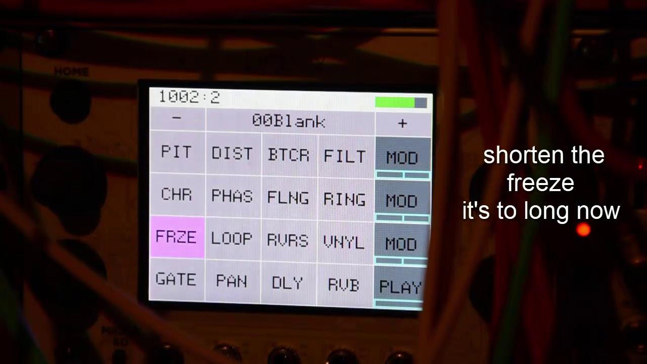 MUFF WIGGLER :: View topic - 1010 Music Bitbox - Sampler/Looper