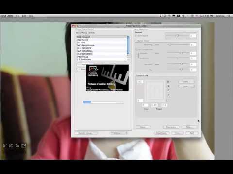 Capture NX Lesson 3 Picture Control II