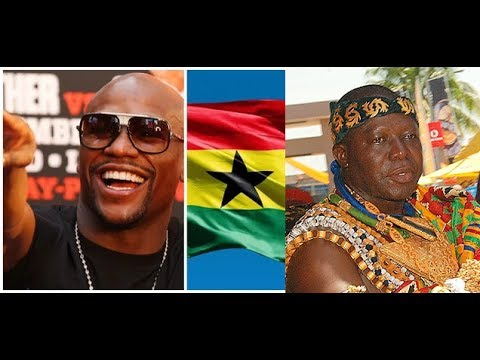 FLOYD MAYWEATHER TOUR TO GHANA , MANHYIA PALACE IN KUMASI- CONFIRM