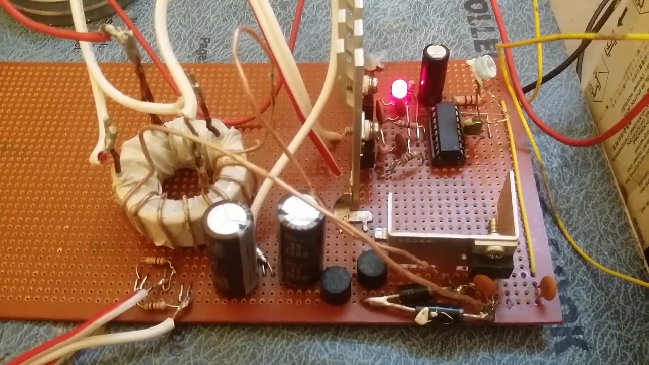 Tda2030 Amplifier Using Sg3525 Smps Simple Pwm