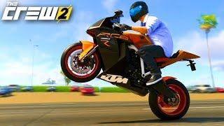 THE CREW 2 - A MOTO KTM 1190 RC8 me SURPREENDEU!!! 320km/h