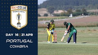 🔴 FanCode Portugal T10, Day 16 | Cricket Live Stream