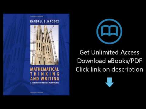 Download Mathematical Thinking and Writing: A Transition to Higher Mathematics [P.D.F]