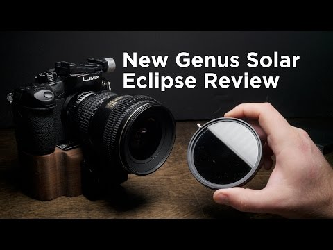 New Genus Solar Eclipse Fader ND and Polarizer Filter Review