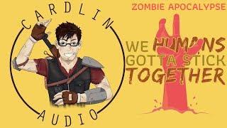ASMR Voice: We humans gotta stick together [Zombie Apocalypse] [Brrraaaaiiinsss] thumbnail