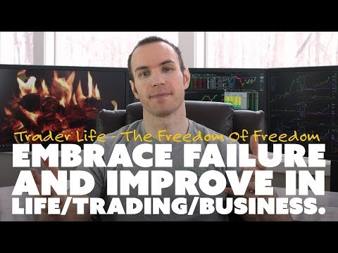 Embrace Failure and Improve in Life/Trading/Business.