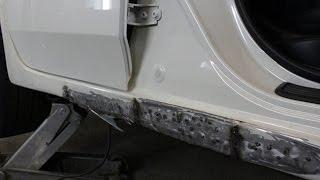 видео Ремонт порогов Ford в автосервисе