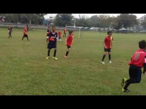Red Dragon  Vs United Soccer.Malaysia Junior Premier league