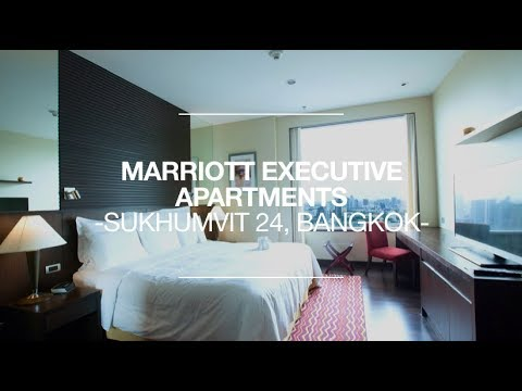 Marriott Executive Apartments Sukhumvit Park Bangkok -  Room Review #3307 Skyline View Suite