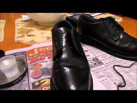 JROTC Life: How to shine Shoes