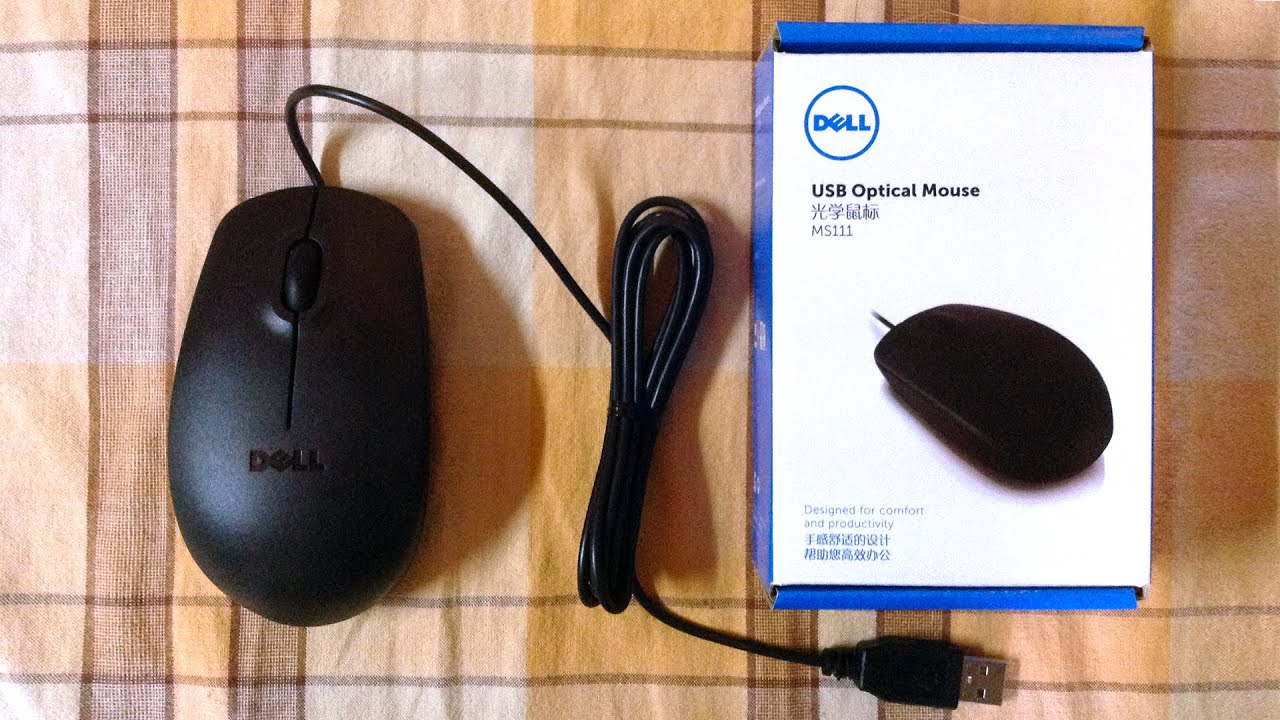 Dell 3-Button MS Optical USB Mouse Specs & Prices