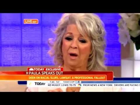 Complete PAULA DEEN 'Today Show' Interview -