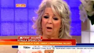 Complete PAULA DEEN 'Today Show' Interview - 'I