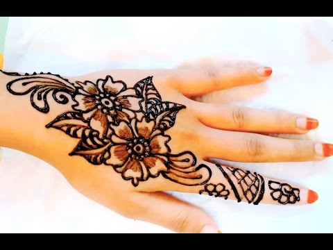 ᴴᴰ stylish simple henna mehndi designs for hands