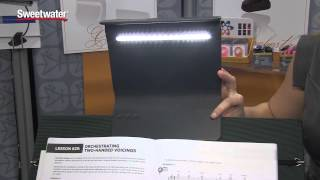 Mighty Bright Crescendo Led Music Stand Light - Sweetwater At Winter Namm 2015